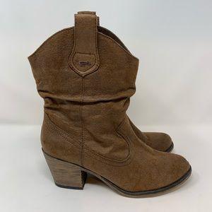 Rocket Dog Sheriff Slouchy Western Cowboy Boots